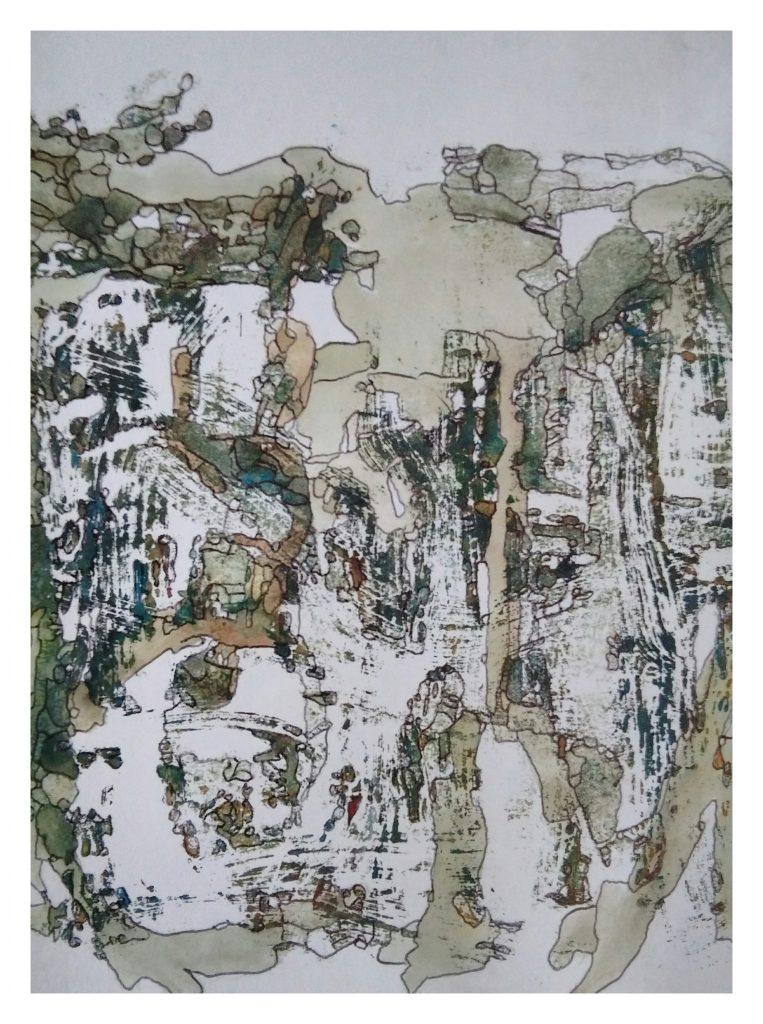 Aquarelle et encre sur papier (15x20).