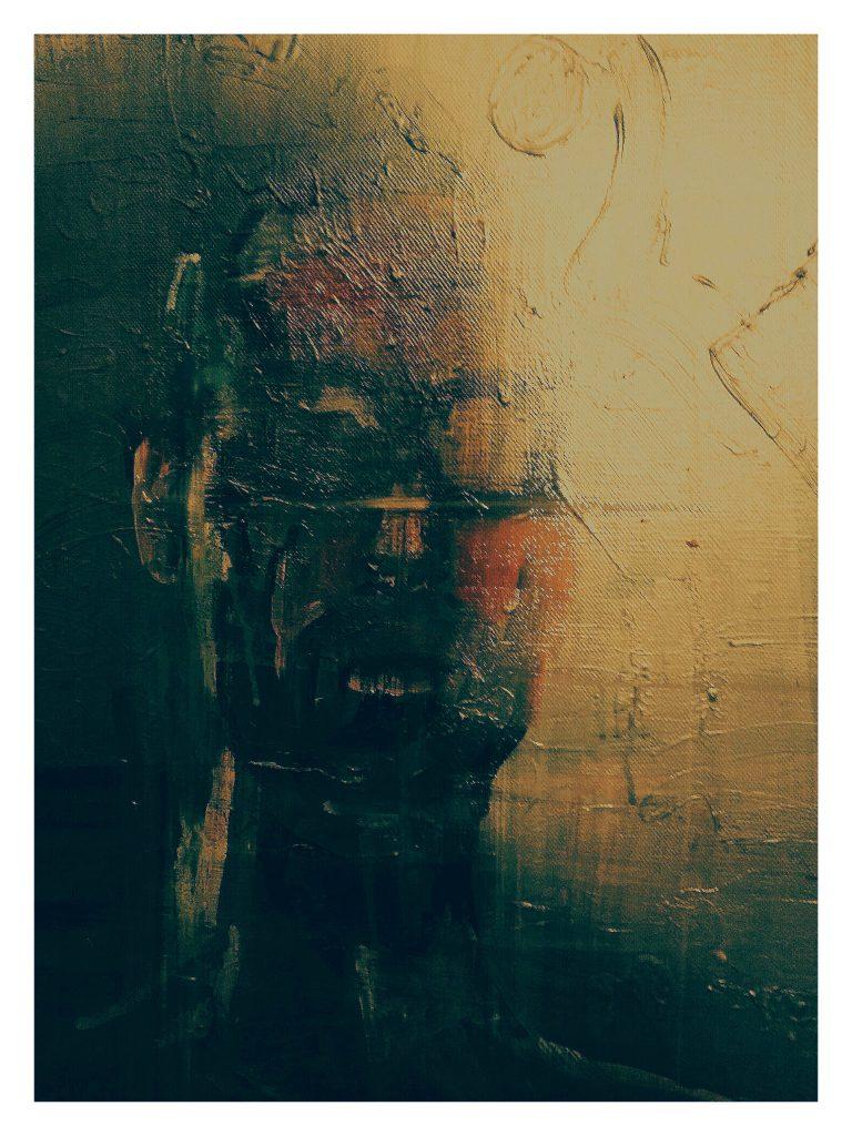 Acrylique sur toile.